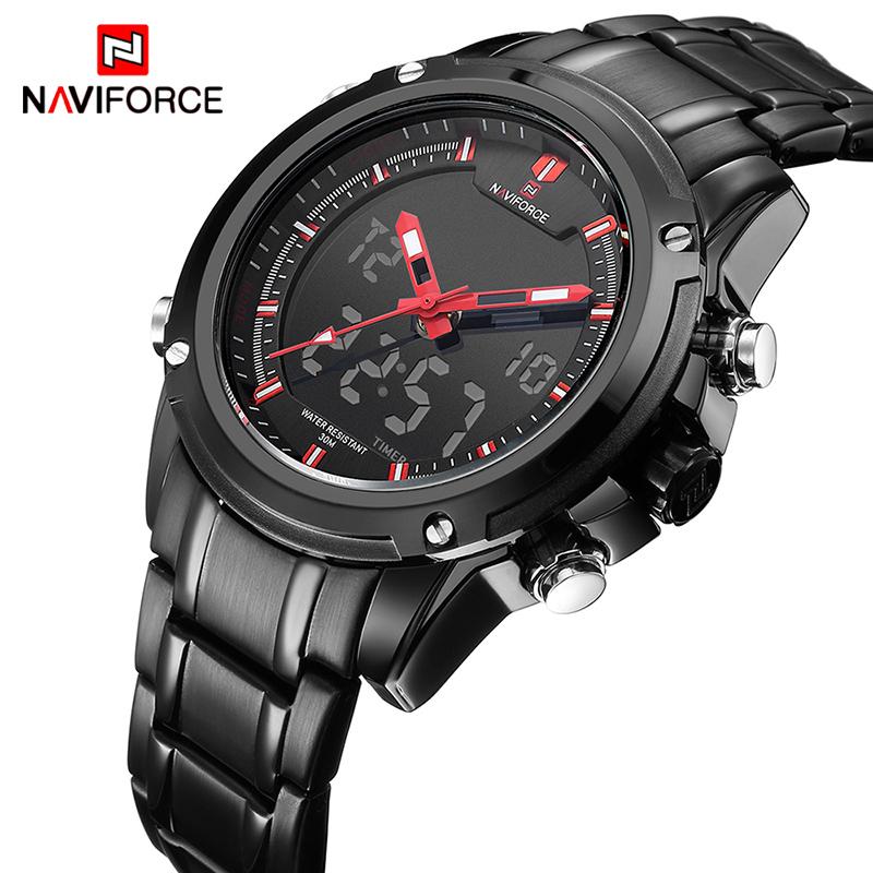 Brand-NAVIFORCE-Watches-men-luxury-Full-Steel-Quartz-Clock ...