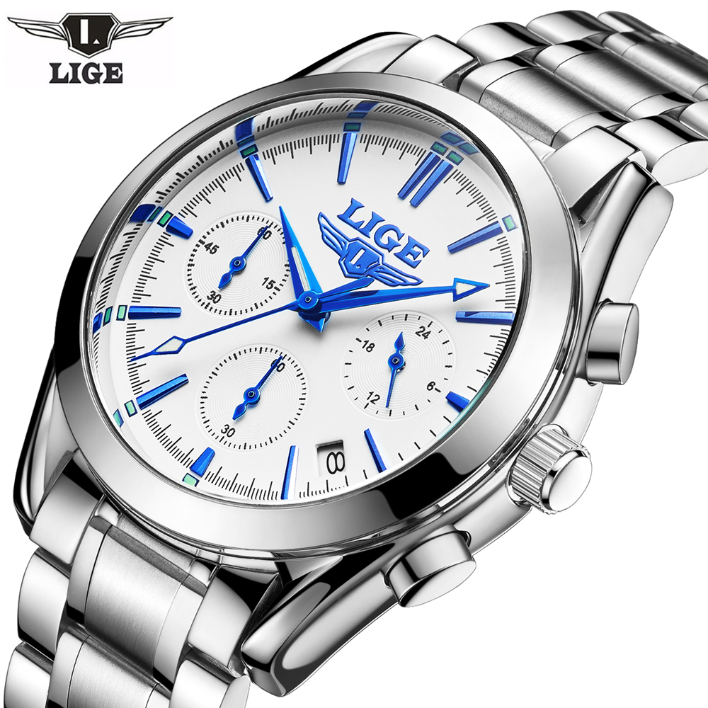Lg38w lige chronograph watch retail bd for Lige watches