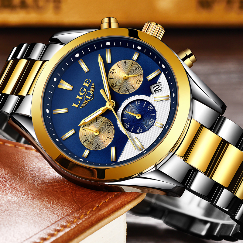 Lg25e lige royal chrono retail bd for Lige watches