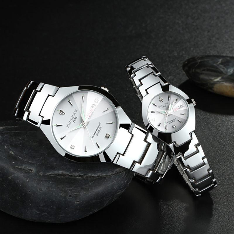 Kn51w kingnuos couple watch retail bd for Kingnuos watch