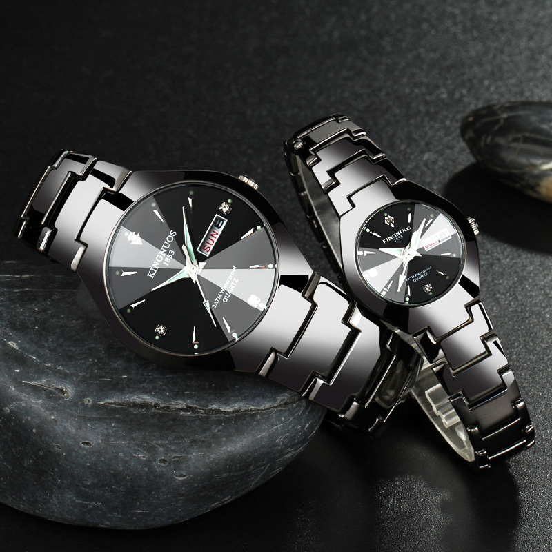 Kn51k kingnuos couple watch retail bd for Kingnuos watch