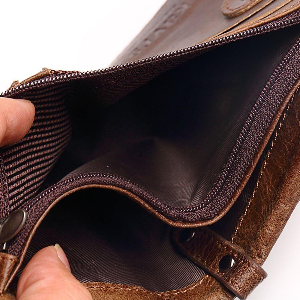 Wa23b Kavis Men S Wallet Rfid Blocking Genuine Leather