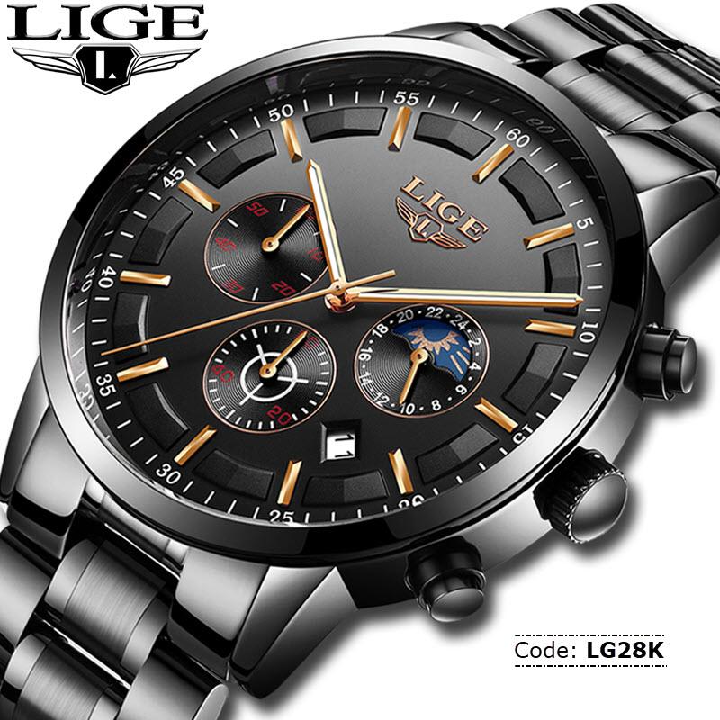 80a6ce26aaff LG28K LIGE 9877 Watch for Men - RetailBD