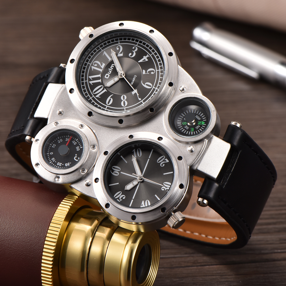 INFANTRY Mens Watches Top Brand Luxury Analog Digital ...  |Big Watches For Men