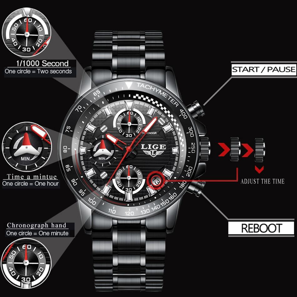 63e4dc58d72 LG53K LIGE 9873 Luxury Watch for Men - Retail BD