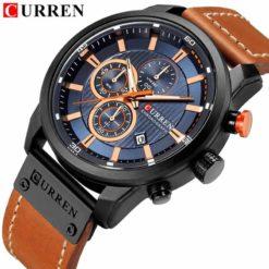 CR29E Curren C-8291 Fashion Casual Chronograph Watch For Men